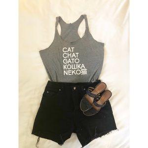 Cute cat tank! 🐱
